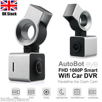 AutoBot Eye Smart WIFI Car DVR Full HD Dashcam 1080P Dash Camera Night vision UK