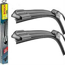 A Set Of Front Bosch Aerotwin Wiper Blades A539S Toyota Avensis 2009>2016