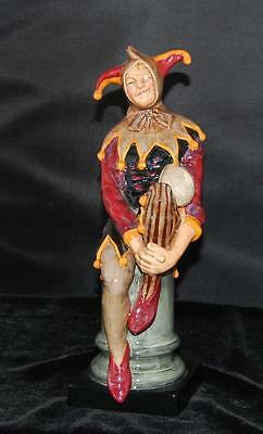 "Royal Doulton Porcelain Figurine ""The Jester"" HN 2016 -Retired 1997-Mint  9.75""H"