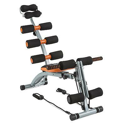 CAPITAL SPORTS Bauchtrainer Core Body Trainer Home Gym Fitness Training Seilzug