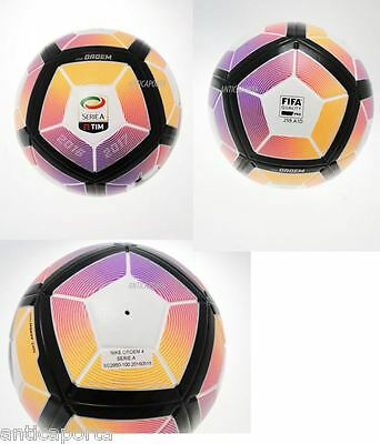 Pallone ORDEM 4 Serie A Originale  Nike TIM 2016 2017 Classico Limited AerowTrac