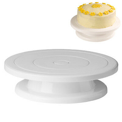 5x Decorating Turntable Stand - White DM