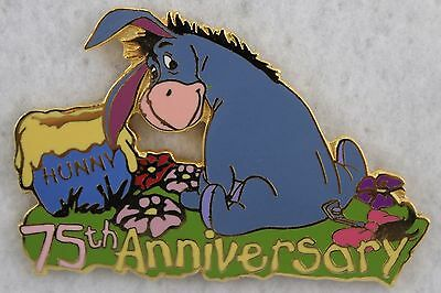 Disney Auctions P.I.N.S. Winnie The Pooh Eeyore LE Pin 75th Anniversary