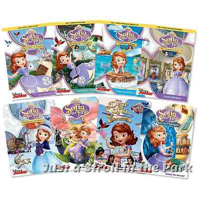 Sofia The First: Disney Princess Sophia Series Complete Collection Box/DVD Sets