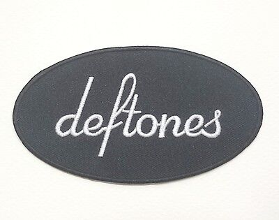New Deftones Music Rock Metal Embroidered Symbol Logo Iron On Patch Shirt Po442