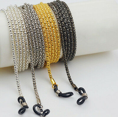Reading Cord Neck Color  Spectacles Sunglasses Glasses Holder Chain Metal Strap