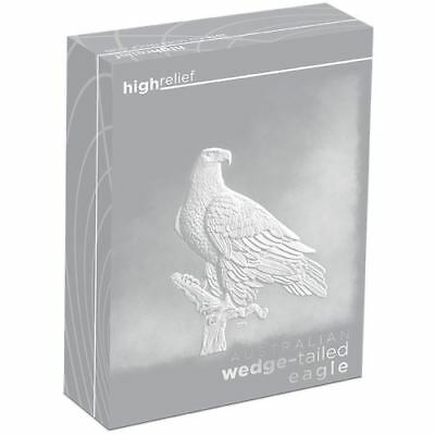 2016 $1 Aust Wedge Tailed Eagle High Relief 1oz Silver Proof Coin