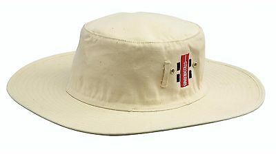 Gray Nicolls Cricket Sun Hat - Off White - Medium