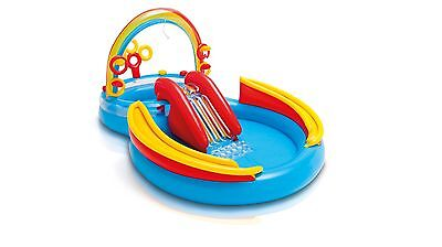 Intex Rainbow Ring Water Play Centre Summer Kids Accessory with High Quality