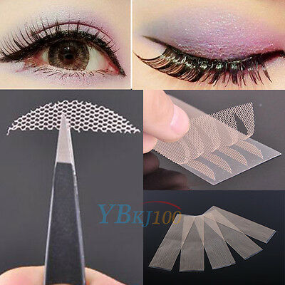 120 Pcs Narrow Double Eyelid Sticker Lace Tape Technical Eye Tapes Makeup Tools