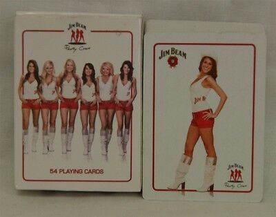Jim Beam Party Crew Deck of Cards: 54 Playing Cards: In Original Box: USED