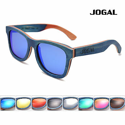 New Gents Skateboard Bamboo Wooden glasses Polarized sunglasses with Bamboo Box