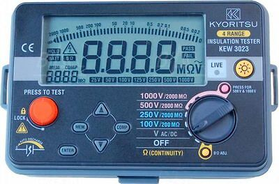 Kyoritsu 3023 Insulation Resistance and Continuity Tester