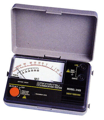 Kyoritsu 3165 Analogue Insulation Tester