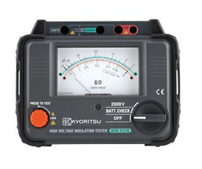 Kyoritsu 3121B Analogue HV 2.5kV Insulation Tester