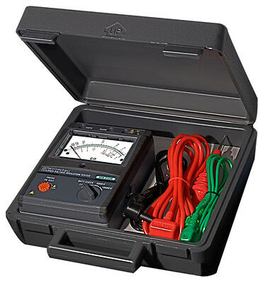 Kyoritsu 3123A Analogue HV 5/10kV Insulation Tester