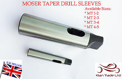 Super Precision Reducing Drill Sleeve Adapter MT0 to MT1 Morse Taper 0-1 H /& G