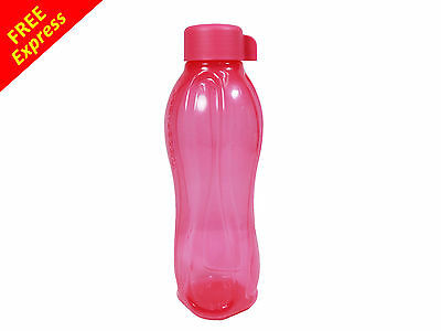 Tupperware Eco Drink Water Bottle Pink Pouch (1) 750ml with FREE Express