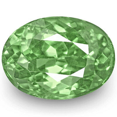 1.49-Carat IGI-Certified Oval-Cut Intense Green Alexandrite from Russia
