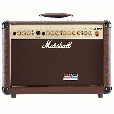 Marshall AS50D Acoustic Guitar Amplifier - 50 Watts