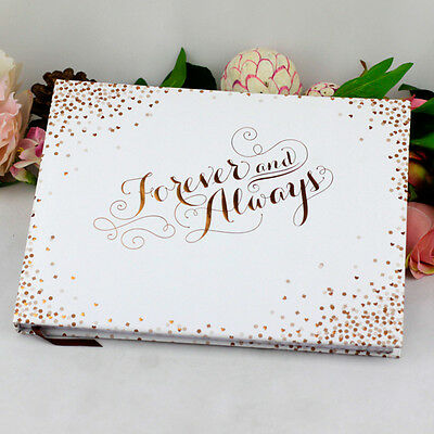 Forever & Always Guest Book- Wedding, Engagement Gift