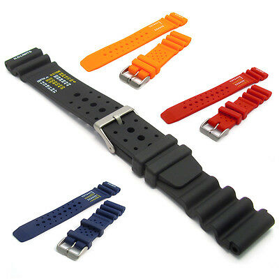 High-Grade Polyurethane SCUBA Divers Watch Band ND Limits 20mm 22mm C038
