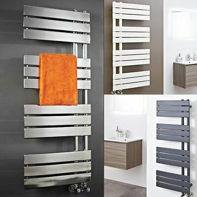 """Apollo"" Designer Heated Towel Rails - Anthracite, Chrome, Latte - (2 Sizes)"