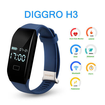 Smart Bracciale SmartBand Watch Orologio Heartrate Monitor Touch per Android iOS