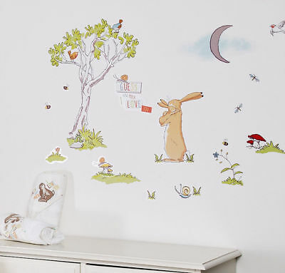 Guess How Much I Love You Nursery Room Wall Stickers 24pcs