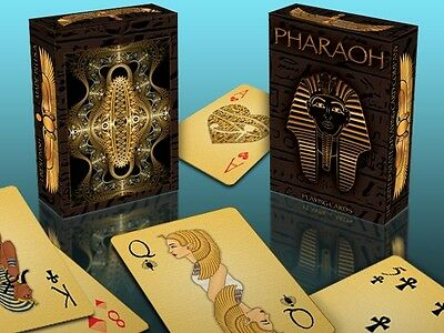 Pharaoh Bicycle Deck Playing Cards By Uspcc & Collect Ancient Egypt Magic Tricks