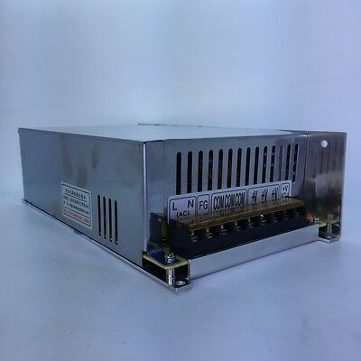 High Performance 48V DC 10A 500W Regulated Switching Power Supply S-500-48