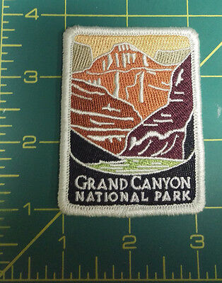 New Traveler Series Patch - Grand Canyon National Park - Arizona - Embroidered