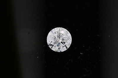 GIA .51ct Round Loose Diamond H color, I2 clarity 5.21-5.23 x 3.06mm