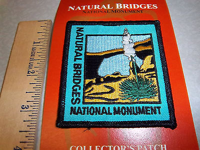 Natural Bridges National Monument Utah, Beautiful Embroidered patch
