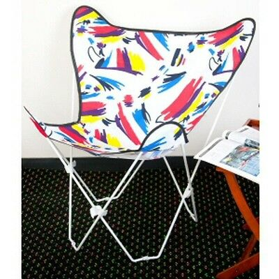 Butterfly Chair Combo: Silver Frame w/Splash Cover