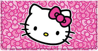 Hello Kitty® Pop Leather Checkbook Cover