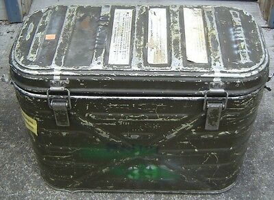 US Army Military Insulated Hot Cold Food Container Cooler Metal Box Can Insert 2
