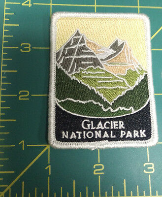 New Traveler Series Patch - Glacier National Park - Montana - Embroidered