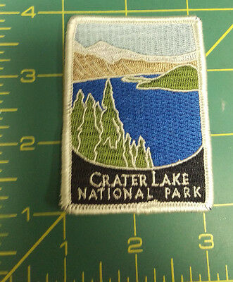 New Traveler Series Patch - Crater Lake National Park - Oregon - Embroidered