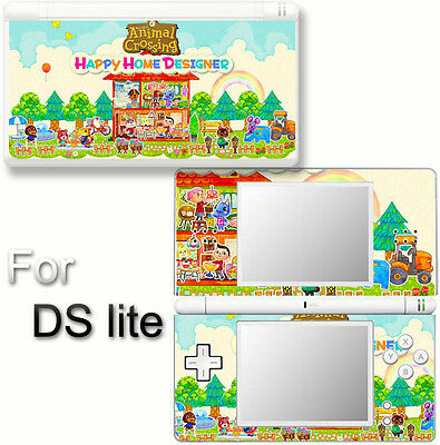 Animal Crossing Happy Home Designer adorable Skin Sticker Decal for DS Lite