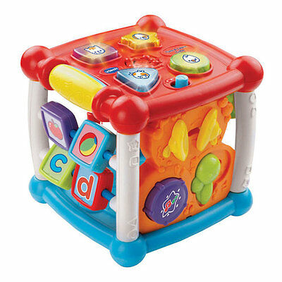 VTech Turn & Learn Cube - Baby Educational Toy Sounds Colour Number