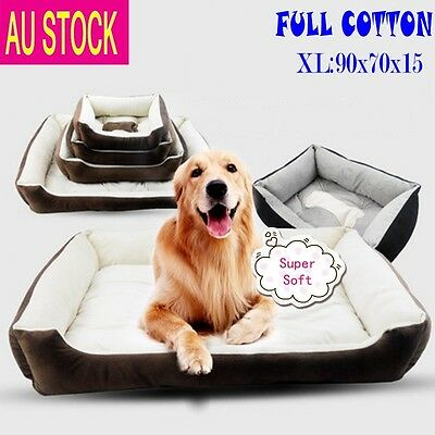 X LARGE Dog Bed Waterproof Futon Heavy Duty Mat Washable Cushion Warm S,M,L,XL
