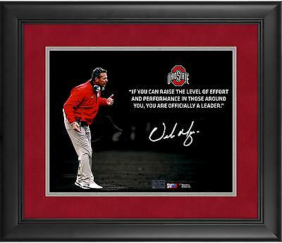 Autographed Urban Meyer Ohio State 11x14Photo Item#6452573