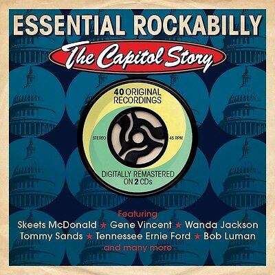 Essential Rockabilly-The Capitol Story 2 Cd New+