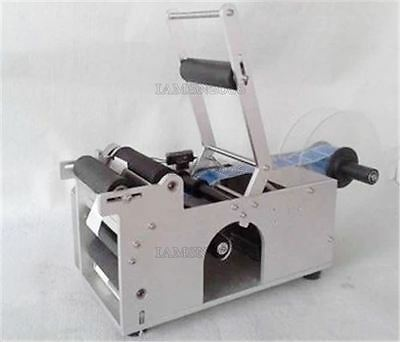 Semi-Automatic Industry Lt-50 Labeling Brand New Machine Bottle Labeler Round F