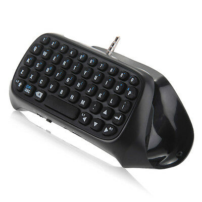 Gaming Bluetooth Wireless Keypad Chatpad for Sony PlayStation 4 PS4 Controller -