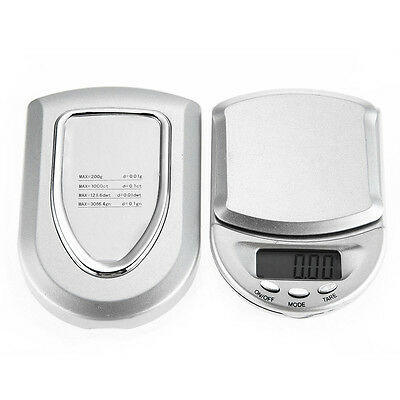 200g/0.01g Digital Medical Lab Balance Weigh Weight Weighing Scale Kitchen Home