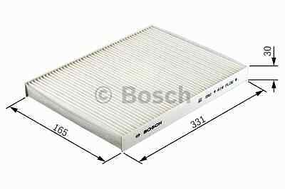 VAUXHALL VECTRA C Pollen / Cabin Filter 02 to 08 1987432076 Bosch 9201440 New