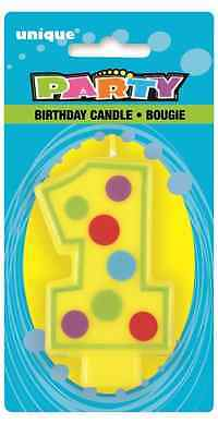 Number 1 Birthday Cake Candle 1st Birthday Candles Party Decorations