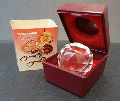 SWAROVSKI CRYSTAL COMMEMORATIVE PAPERWEIGHT Princess Anne 40th Birthday